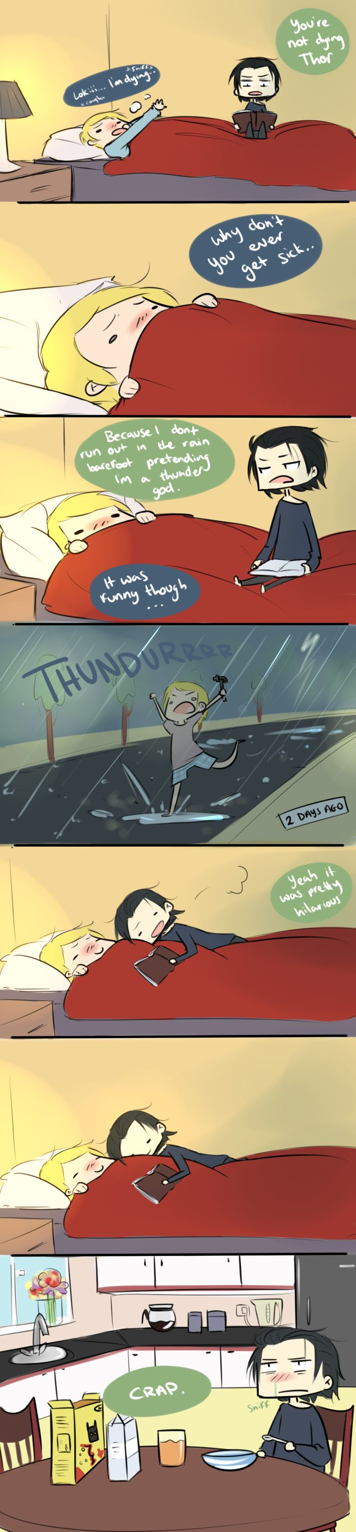 Thor and his cold