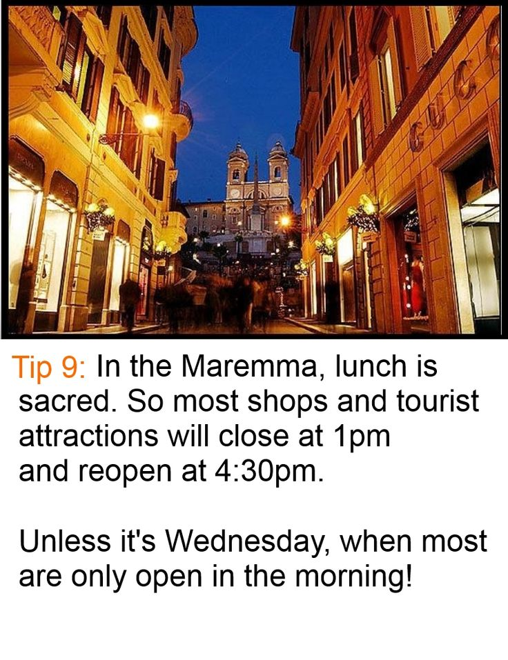 Don't be disappointed. Time you #shopping #spree  in the #Maremma #Tuscany or you might find everything closed! For more: check out www.maremma-tuscany.com