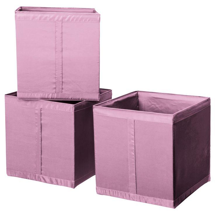 62 best images about chambre b b rose et gris en vrac - Pouf coffre de rangement ikea ...