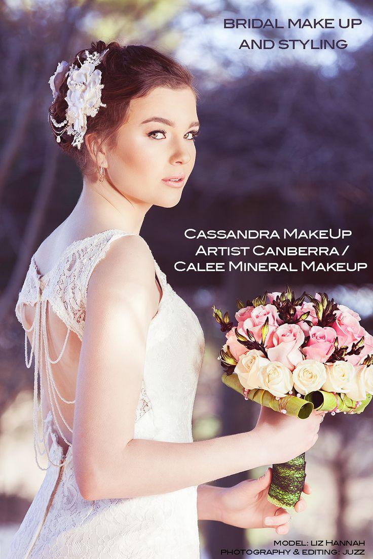 Cassandra Lee Bridal Shoot Model: Liz Hannah Styling/MUA/Hair/HairPiece: Cassandra Lee Flowers: Arum Floral Design