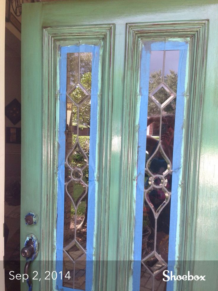 Add color and curb appeal to your house by painting your front door an amazing color!