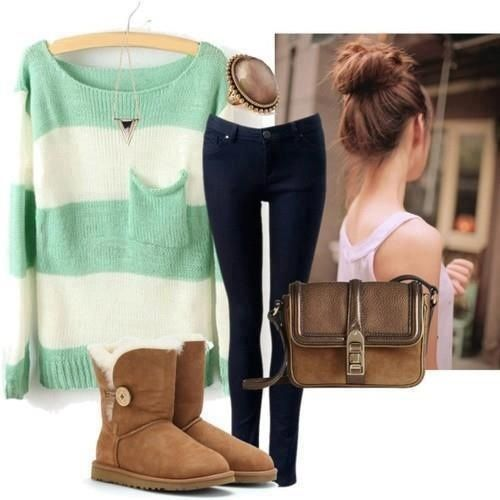 uggs outfit for Christmas list & chestnut ugg boots