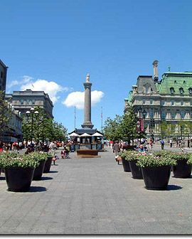 Old Montreal (or Vieux Montréal) is the city's birthplace filled with 17th and 18th century charm. Here you can be amazed by the architecture and squares as well as the abundance of art galleries, shops, and fine dining choices.