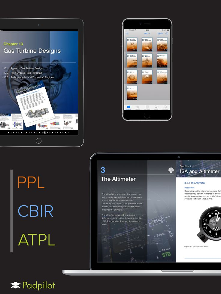 Padpilot is the leading publisher of digital aviation theory manuals.
