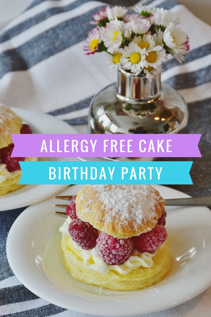 Cake recipes for nut allergies