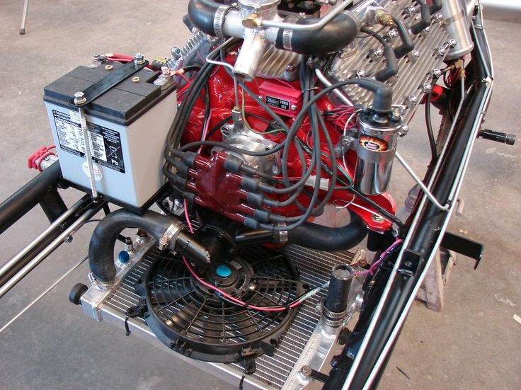 Motor Showing Cooling System And Battery Placement