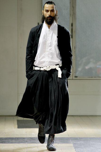 Yohji Yamamoto Pour Homme    Spring/Summer 2012
