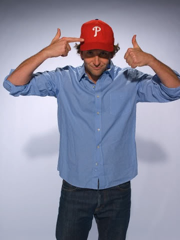Bradley reppin' the Phils..... <3