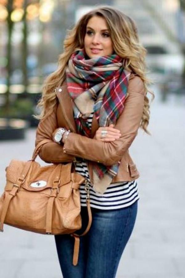 Blanket Scarf | From the pumpkin patch to game night the Autumn in New York plai…