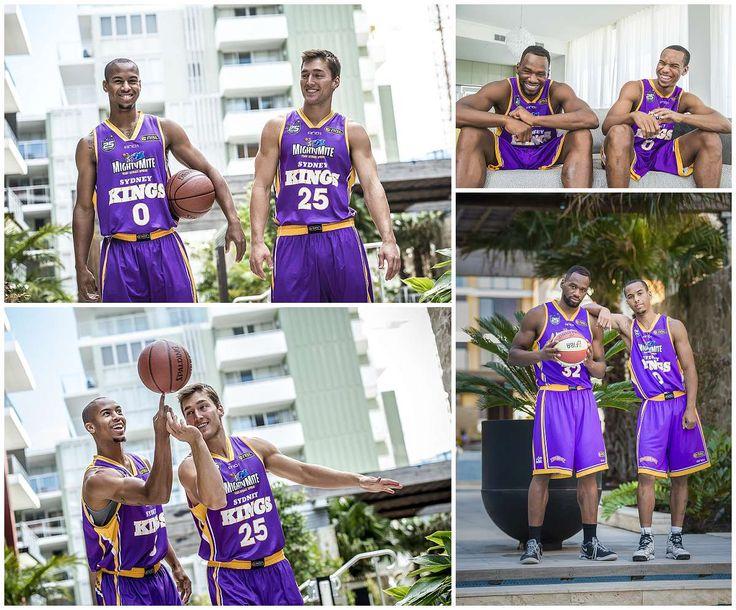 Sydney Kings Basketballers
