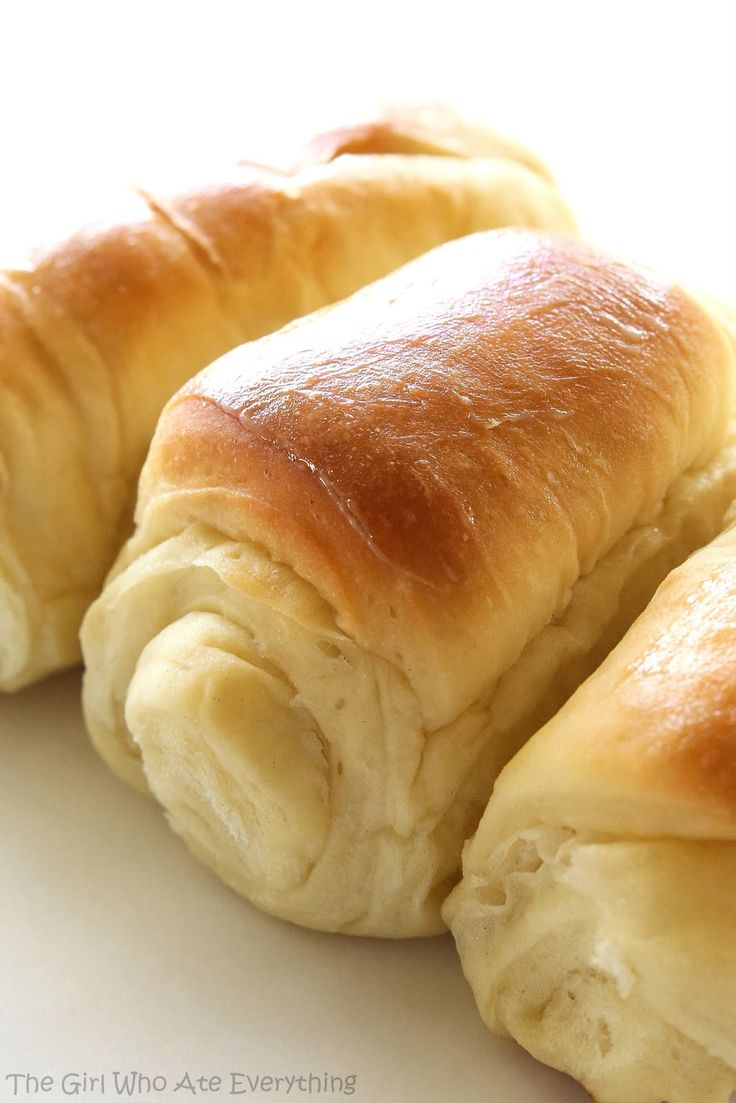 Lion House Rolls - my favorite rolls hands down! Soft, fluffy and unbelievable! the-girl-who-ate-everything.com