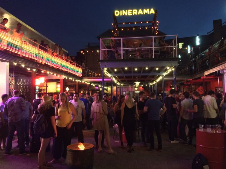 Dinerama / Street Feast Shoreditch: über hip Street Food market in Shoreditch, simply great!!!