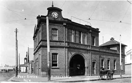 Alexandria Post Office.1904