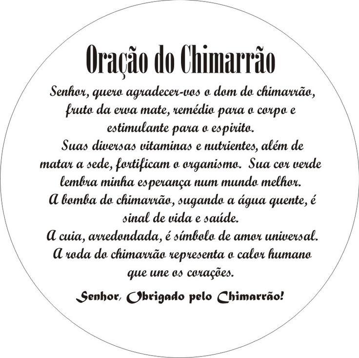 Oracao do Chimarrao