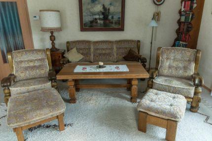 70er Jahre Sitzgarnitur Massiv Eiche mit mintgrünem Polster in Niedersachsen - Bispingen | Sessel Möbel - gebraucht oder neu kaufen. Kostenlos verkaufen | eBay Kleinanzeigen
