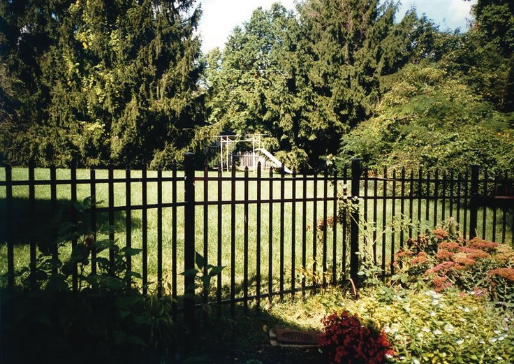 My dream fence! Black wrought iron!