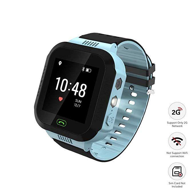 Wonbo Kid Smart Watch Soft Silicone Gps Tracker With Sim Slot Sos