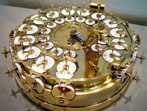 A replica of the calculating machine of Johann Helfrich Müller from 1784: Müller 1784, Johannes Helfrich, Http History Computer Com, Johannes Müller, 1784 Calculator, Calculator Machine, Machine 1784, Steampunk, Helfrich Müller