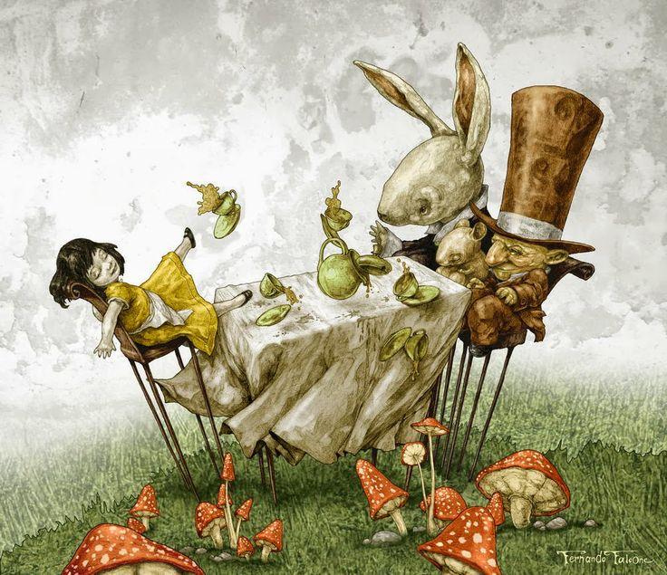 Fernando Falcone   Alice in Wonderland