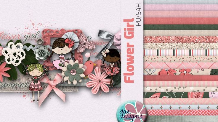 Flower Girl by Dae Designs