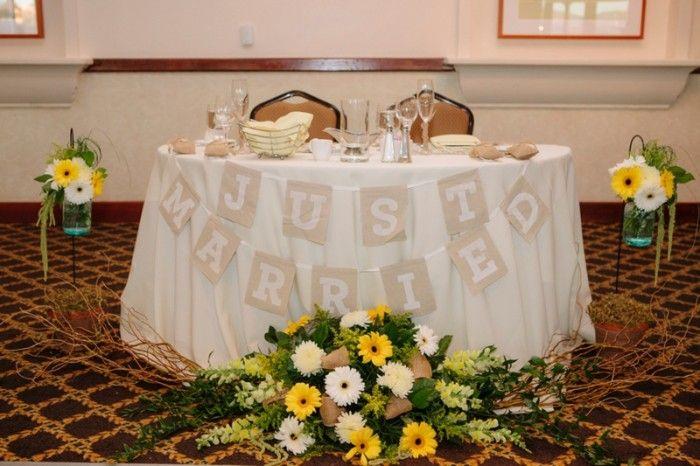 Yellow & Gray Rustic San Diego Wedding