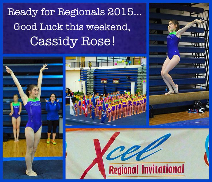 So proud of you making it to Regionals Cassidy! You did it! Have fun and Rock it Out this weekend!