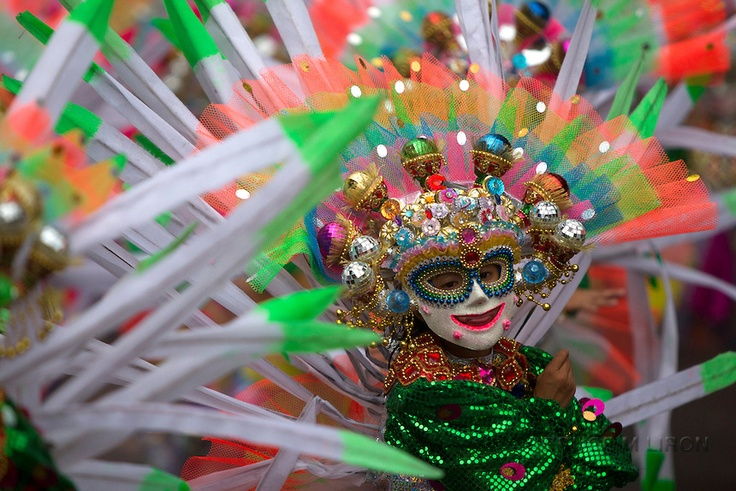 Masskara festival 2012,Bacolod City Occidental,Phillippines