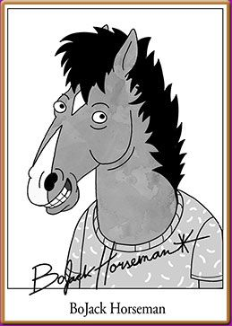 8 best images about bojack horseman on pinterest alison. Black Bedroom Furniture Sets. Home Design Ideas