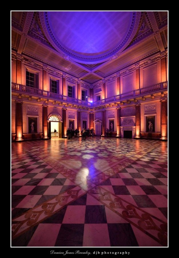Wentworth Woodhouse Marble Hall Event Night Ballet And