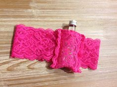 Flask Garter-Garter flask holder-Holds 1oz/ 50ml bottle-Bachelorette party garters-Wedding Garter-Bridesmaid garter-Option to INCLUDE FLASK by AmBryantDesigns on Etsy https://www.etsy.com/listing/206396258/flask-garter-garter-flask-holder-holds