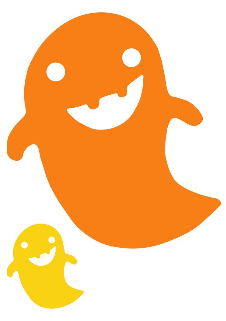 Pikku Kakkosen tulostettava haamu | lasten | askartelu | syksy | halloween | paperi | käsityöt | koti | printable patterns | DIY ideas | kid crafts | autumn | fall | home | Pikku Kakkonen