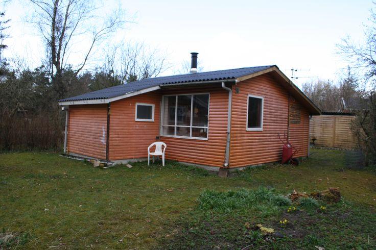 Fritidshuset som det så ud da vi købte det i 2007