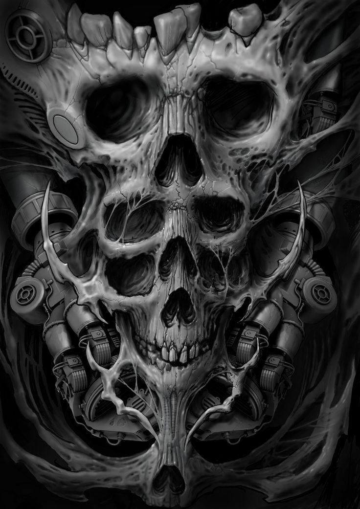 оба произведения, картинки с черепами и скелетами хорошо чувствуете себя
