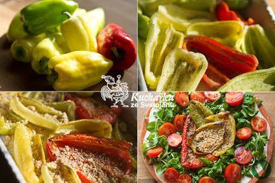 PEČENÉ PAPRIKY Kuchařka ze Svatojánu: Hlavní jídla