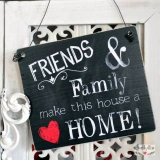 shabbyflair - FRIENDS & FAMILY make this house a HOME!