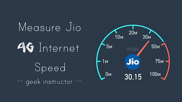 How to Measure Jio 4G Speed on Your Phone: 2 Ways