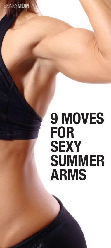 Get toned arms with these 9 bicep exercises! #sexy #fitness #girls