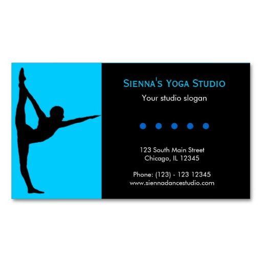 305 best Yoga Business Card Templates images on Pinterest