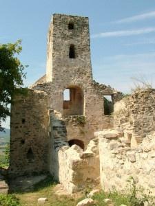 Balatoncsicsó (Szentantalfa), Szent Balázs templomrom