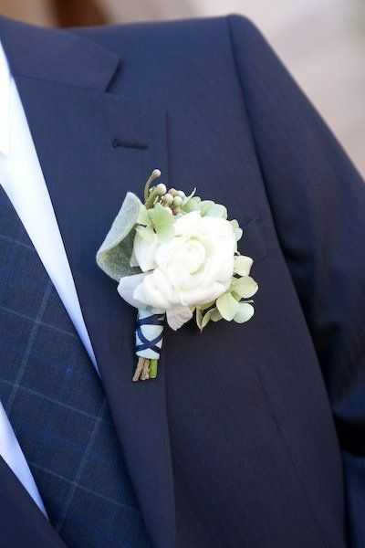 Boutonnieres for the Boys, Wedding Flowers Photos by Seed Floral Couture - Image 17 of 100 - WeddingWire