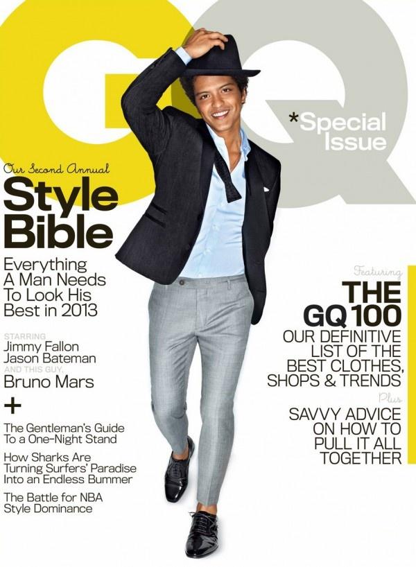 Bruno Mars Covers GQ