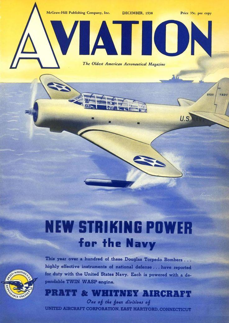 Aviation Magazine (December 1938)