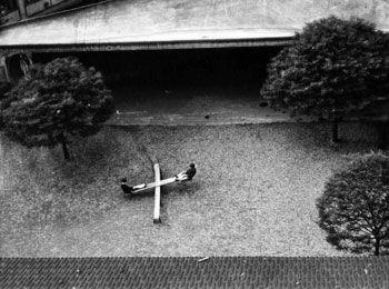 Andre Kertesz  On the Teeter-Totter, Paris  1931