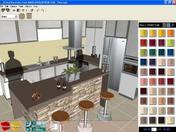 Free Virtual Kitchen Designer Home Interior Design Personable