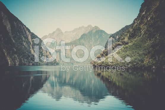 Milford Sound Landscape, South Island, New Zealand royalty-free stock photo