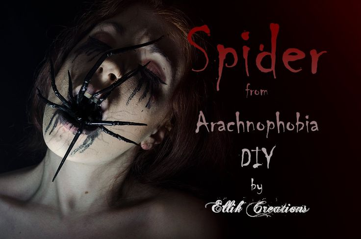 How-to:  Spider From Arachnophobia Makeup Tutorial | Ellik Creations