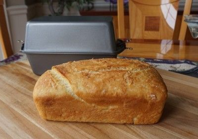 Bake A Sandwich Loaf With No Machine and Without Touching The Dough Homesteading  - The Homestead Survival .Com