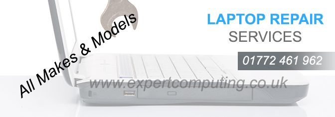 Expert Computing is best laptop repair service provider based in Preston. We have years of experience in Laptop repair as well as Computer repair in hardware as well software.