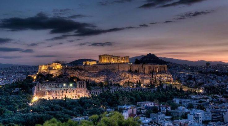 Ακρόπολη Αθηνών στην πόλη Αθήνα, Αττική