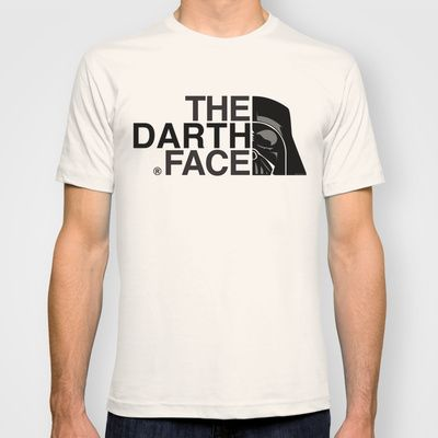 The Darth Face T-shirt by Mike Oncley - $22.00